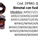 Bimetal c/fusible térmico Whirlpool línea Symphony