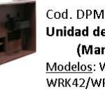 Unidad de control Whirlpool (Marrón con pin) WRM44A/WRM394/WRK42/WRK424/